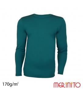 Herren Langarm T-Shirt | 100% Merinowolle | 170 g/qm