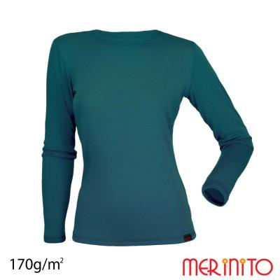 Women's Long Sleeve T-Shirt   100% merino wool   170g/sqm