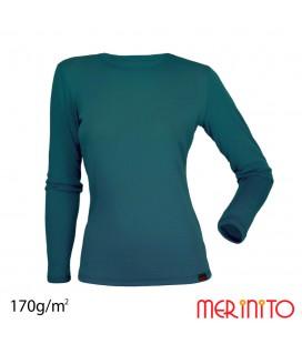 Women's Long Sleeve T-Shirt | 100% merino wool | 170g/sqm