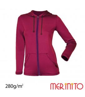 Women Parka | 100% merino wool | 280g/sqm