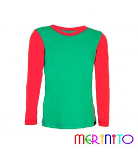 Merino Shop | Kids merino wool T-shirt 100% merino wool undershirt