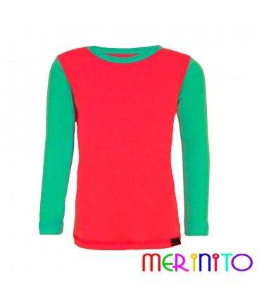 Merino Shop | Kinder Merino Wolle T-Shirt 100% Merinowolle Unterhemd