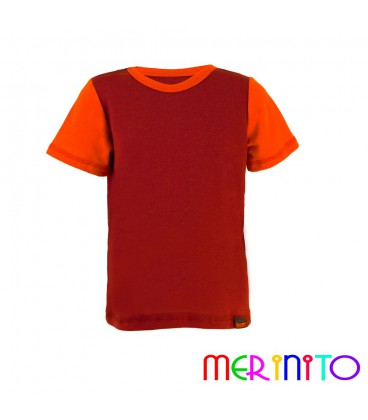 MerinoShop | Kinder Merino Wolle T Shirt 100% Merinowolle Funktionshirt