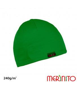 Unisex Mütze für Erwachsene | Mehrschicht Merinowolle & Bambus | 240g/m2