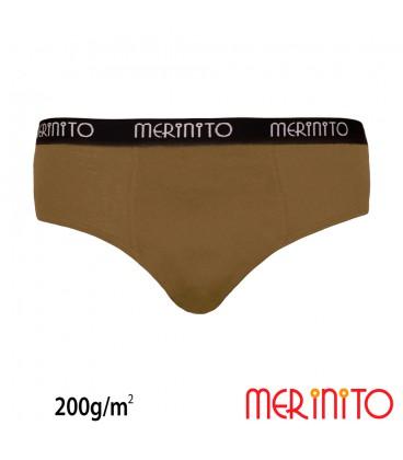 Herren Slip aus 100% Merinowolle | 200 g/m2