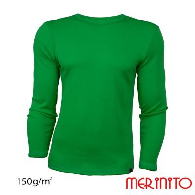 Herren Langarm T-Shirt | 100% Merinowolle | 150 g/m2
