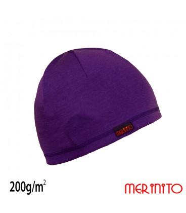 Merino-Shop   Unisex Mütze aus Merinowolle Funktionsbekleidung