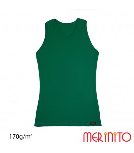 Damen Unterhemd | 100% Merinowolle | 170g/qm