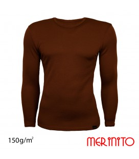 Men's Long Sleeve T-Shirt | 100% merino wool | 150 g/m2