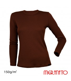 Long Sleeve T-Shirt   100% merino wool   150 g/m2