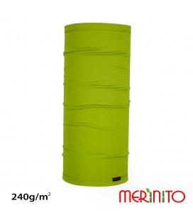 Unisex long neck warmer | merino wool + bamboo  | 240g/m2
