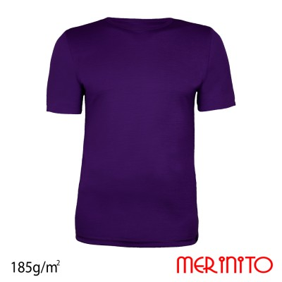 Men's Short Sleeve T-Shirt | 100% merino wool | 185g/sqm