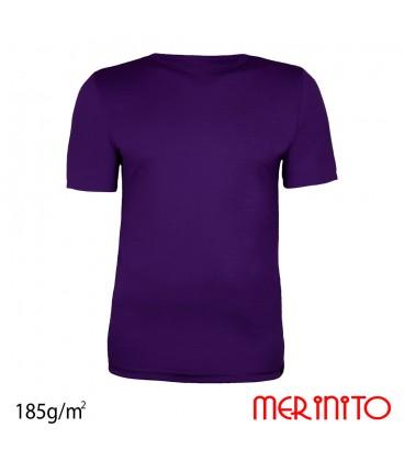 Merino Shop | Merino Wolle T Shirt zwei Farben Herren 100% Merinowolle 185 g/qm