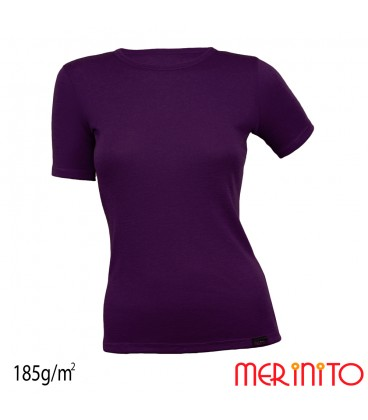Merino Shop   MerinoWolle T Shirt Damen 100% 185 g/qm