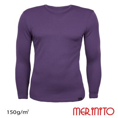 Herren Langarm T-Shirt   100% Merinowolle   150 g/m2