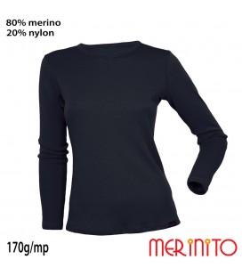 MerinoShop | Damen TShirt 80% Merinowolle und Nylon Funktionshirt