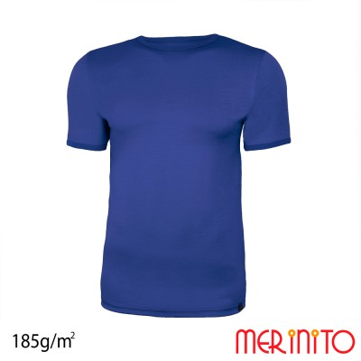 Men's Short Sleeve T-Shirt two colors | 100% merino wool | 185g/sqm