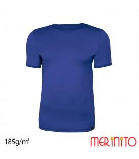 Herren Kurzarm T-Shirt zwei Farben | 100% Merinowolle | 185g/qm