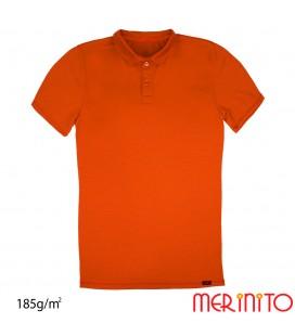 Kurzarm Polo Jersey | 100% Merinowolle | 185g/qm | Herren