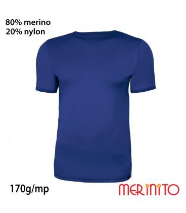 Merino Shop | Merino Wolle TShirt Herren 80% Merinowolle