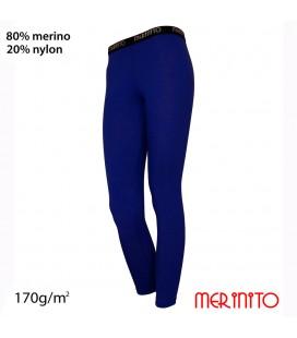 Damen Strumpfhose Unterwäsche | 80% Merinowolle und 20% Nylon | 170g/qm