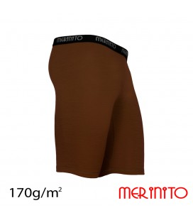 Men Short Tights | 100% merino wool | 170g/sqm