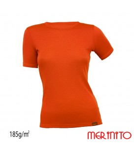 Women Short Sleeve T-Shirt | 100% merino wool | 185g/sqm