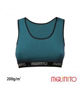 Damen Sport BH aus 100% Merinowolle | 200 g/m2