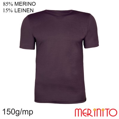 Short Sleeve T-Shirt | 85% merino wool 15% linen | 150g/sqm