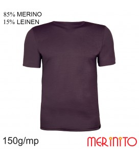 Short Sleeve T-Shirt | 85% merino wool 15% linen | 150g/sqm