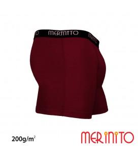 Herren Boxer Retropants aus 100% Merinowolle | 200 g/m2