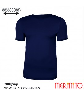 Merino Shop | T-Shirt Merino 95% wool and elastane functional shirt