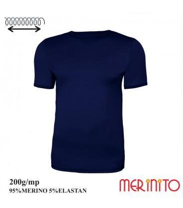 Merino Shop | T-Shirt Merinowolle 95% und Elasthan Funktionshirt