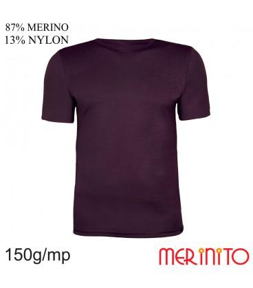 Merinito   Merinowolle Shirt 87% Merino Sportbekleidung