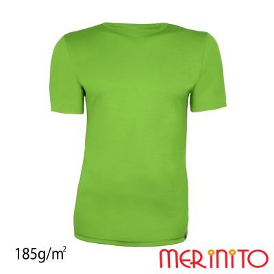 Herren Kurzarm T-Shirt | 100% Merinowolle | 185g/qm