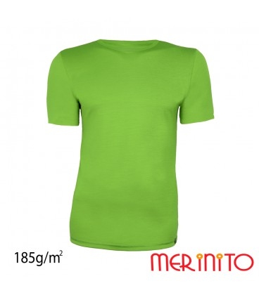 Merino Shop | 100% merino wool TShirt two colours for Men 185 g/sqm