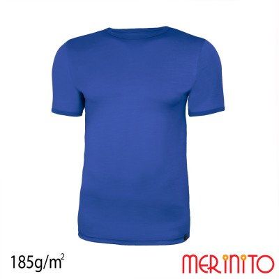 Men's Short Sleeve T-Shirt | 100% merino wool | 185g/sqm