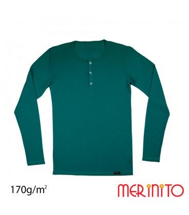 MerinoShop   Herren Merino T Shirt 100% Merinowolle Sportbekleidung