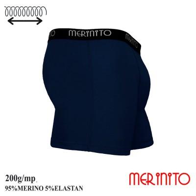 Men's boxer briefs   95% merino wool and 5% elastane   200 g/m2