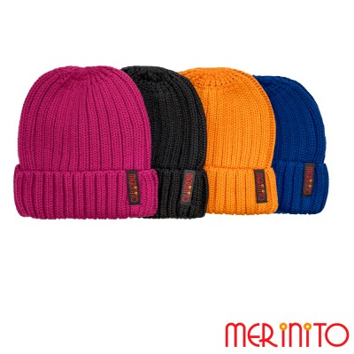 Unisex Mütze für Erwachsene | 50% Merino Wolle und 50% Acryl