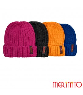 Adult unisex beanie | 50% merino wool and 50% acryl