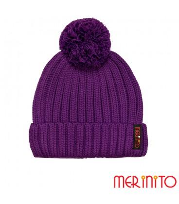 MerinoShop | Unisex Mütze aus Merinowolle und Acryl