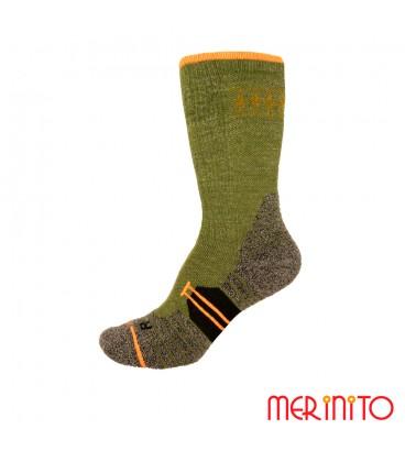 Herren Socken Hike Crew   MerinoShop