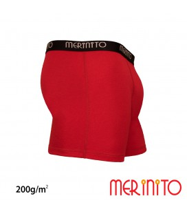 Men's boxer briefs from 100% merino wool | 200 g/m2