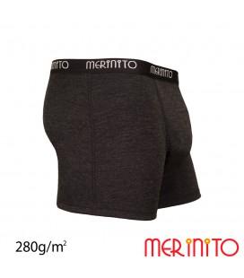 Herren Hochleistungs Boxer Thermoplus+ aus 100% Merinowolle   280 g/m2