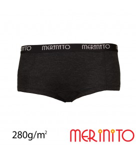 Women's boy shorts Thermoplus+ from 100% merino wool | 280 g/m2