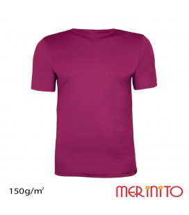 Men's Short Sleeve T-Shirt made from 100% merino wool | 150g/sqm