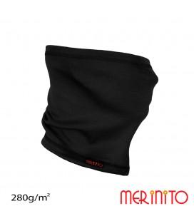 Unisex Interlock neck warmer for adults merino 280g/m2