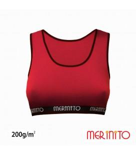 Damen Sport-BH aus 100% Merinowolle | 200 g/m2