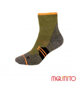 Men Socks Hike Quarter   Merinito
